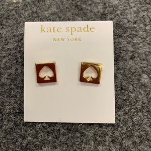 NWOT Kate Spade Hole-punch Earrings